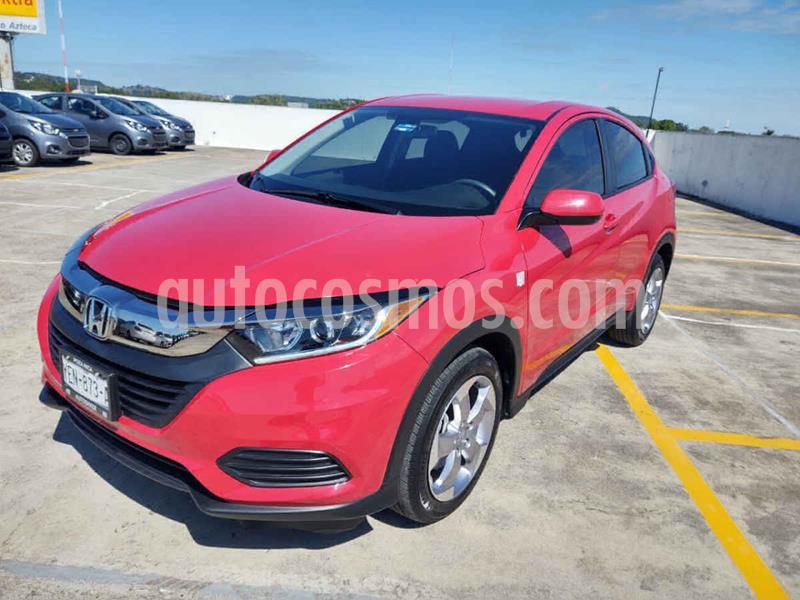 Honda HR-V Uniq Aut usado (2019) color Rojo precio $288,500