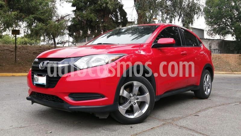 Honda HR-V Uniq usado (2017) color Rojo precio $249,000