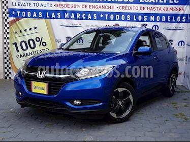 Foto venta Auto usado Honda HR-V Touring Aut (2018) color Azul Electrico precio $339,000