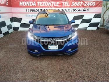 Foto venta Auto usado Honda HR-V Touring Aut (2018) color Azul Electrico precio $355,000