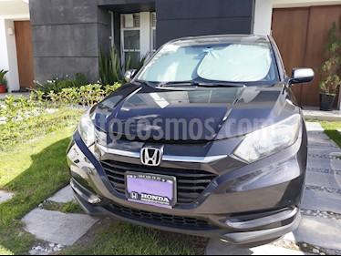 Honda HR-V Uniq Aut usado (2016) color Gris precio $220,000