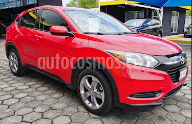Foto venta Auto usado Honda HR-V Uniq Aut (2017) color Rojo Milano precio $235,000