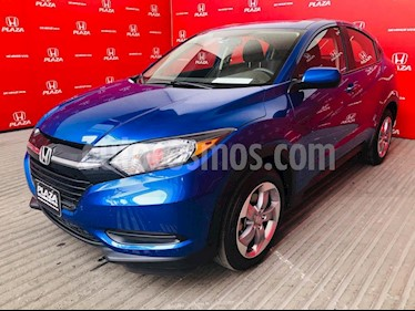 Foto venta Auto usado Honda HR-V Uniq Aut (2018) color Azul precio $325,900