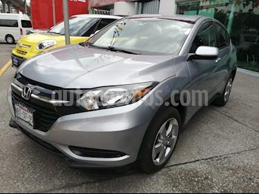 Foto venta Auto usado Honda HR-V Uniq (2017) color Plata precio $249,000