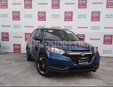 Foto Honda HR-V Uniq usado (2017) color Azul Oscuro precio $250,000