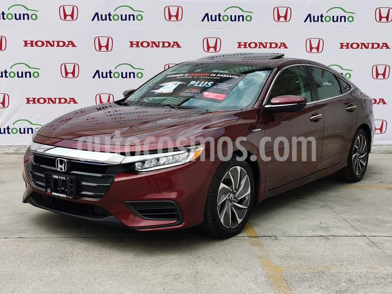 Honda Insight 1.5L usado (2020) color Rojo precio $559,900