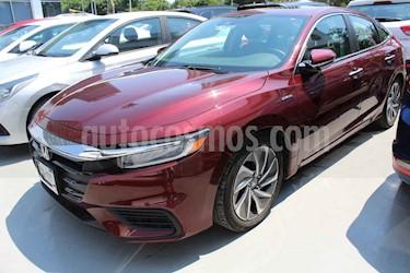 Honda Insight 4p Hibrido L4/1.5 Aut usado (2019) color Vino Tinto precio $439,000