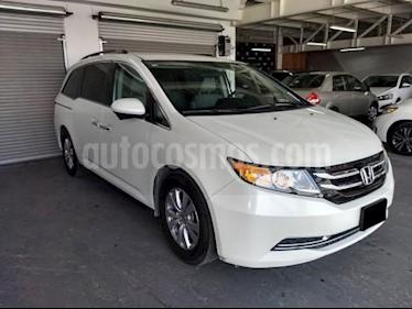 Foto venta Auto usado Honda Odyssey 5p EX V6/3.5 Aut (2014) color Blanco precio $267,000