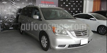 Foto venta Auto usado Honda Odyssey 5p EXL Minivan Aut CD Q/C (2009) color Plata precio $157,000