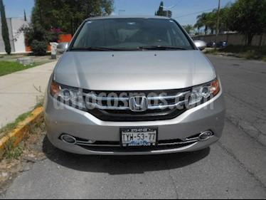 Foto venta Auto usado Honda Odyssey 5p EXL V6/3.5 Aut (2014) color Gris precio $310,000
