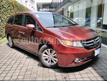 Honda Odyssey 5p EXL V6/3.5 Aut usado (2016) color Rojo precio $429,000