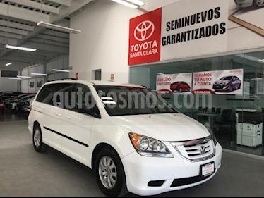 Foto venta Auto usado Honda Odyssey 5p LX Minivan Aut (2010) color Blanco precio $155,000