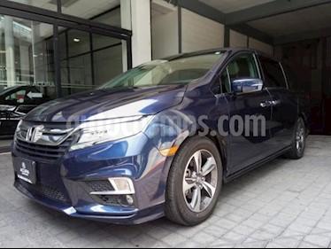 Foto venta Auto usado Honda Odyssey 5p Touring V6/3.5 Aut (2018) color Azul precio $615,000