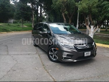 Foto venta Auto usado Honda Odyssey 5p Touring V6/3.5 Aut (2019) color Gris precio $795,700