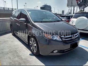 Foto venta Auto usado Honda Odyssey 5p Touring V6/3.5 Aut (2014) color Gris precio $299,000