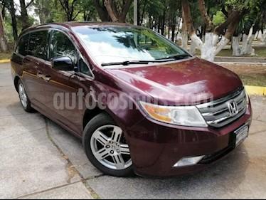 Foto venta Auto usado Honda Odyssey 5p Touring V6/3.5 Aut (2012) color Rojo precio $239,000