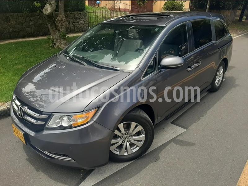 Honda Odyssey EXL 3.5L Aut  usado (2015) color Gris precio $81.900.000