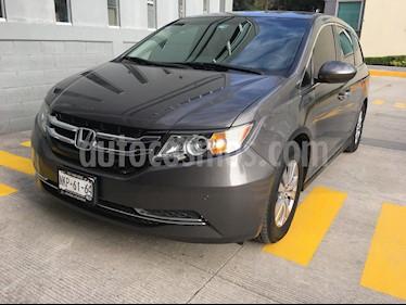 Foto venta Auto usado Honda Odyssey EX (2014) color Gris Humo precio $265,000