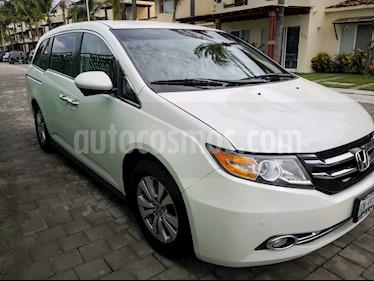 Honda Odyssey EXL usado (2014) color Blanco Diamante precio $242,000