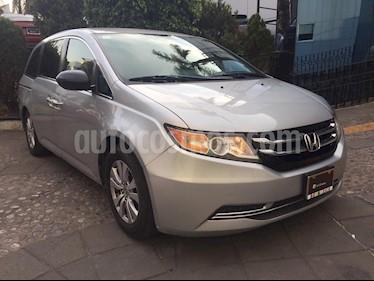 Foto venta Auto usado Honda Odyssey EXL (2014) color Plata Diamante precio $255,000
