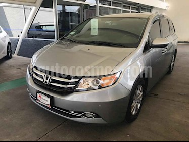 Foto venta Auto usado Honda Odyssey EXL (2016) color Plata precio $459,000