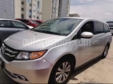 Honda Odyssey EXL usado (2015) color Plata precio $340,000