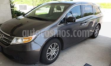 Honda Odyssey EXL usado (2013) color Gris precio $239,000