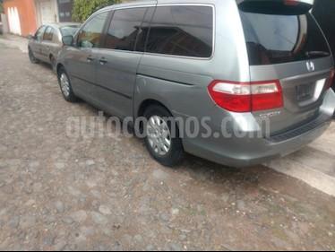 Honda Odyssey LX usado (2007) color Gris Oscuro precio $114,000