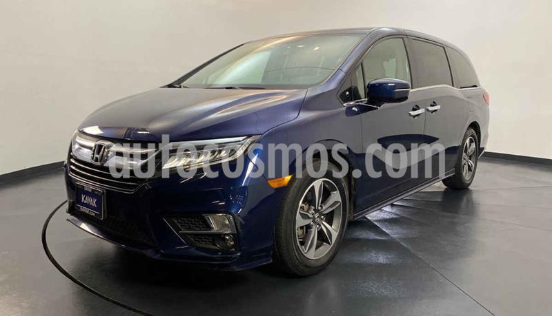 Honda Odyssey EXL usado (2018) color Azul precio $599,999