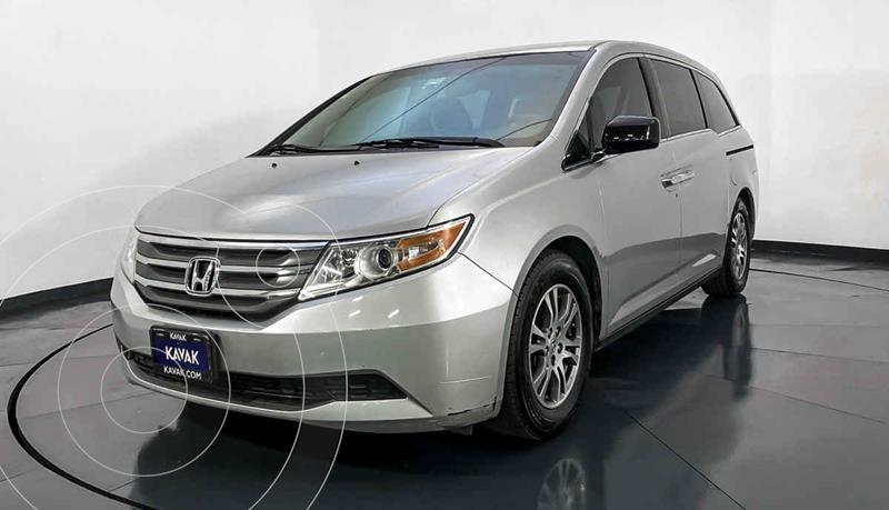 Honda Odyssey EXL usado (2013) color Plata precio $249,999