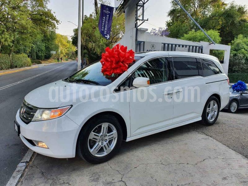 Honda Odyssey Touring usado (2012) color Blanco precio $245,000