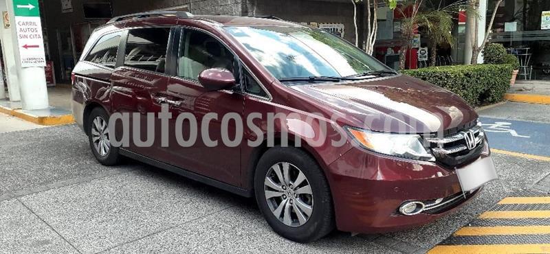 Honda Odyssey EXL usado (2016) color Rojo precio $375,000