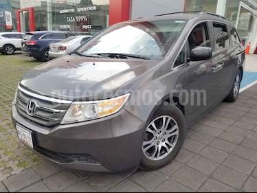 Honda Odyssey 5p EXL minivan aut piel DVD usado (2013) color Gris precio $250,000