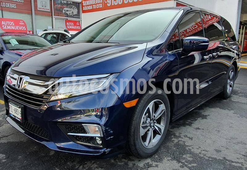 Honda Odyssey Touring usado (2019) color Azul precio $770,000
