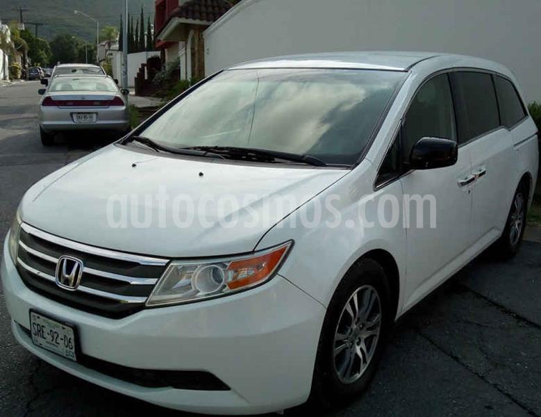 Honda Odyssey EXL usado (2012) color Blanco precio $185,000