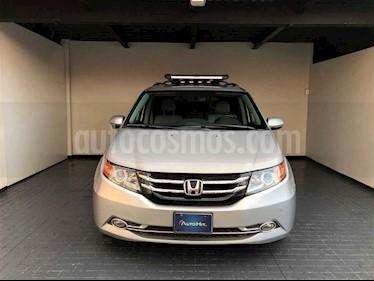 Honda Odyssey 5p Touring V6/3.5 Aut usado (2015) color Plata precio $411,000