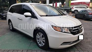 Foto Honda Odyssey 5p EX V6/3.5 Aut usado (2016) color Blanco precio $399,000
