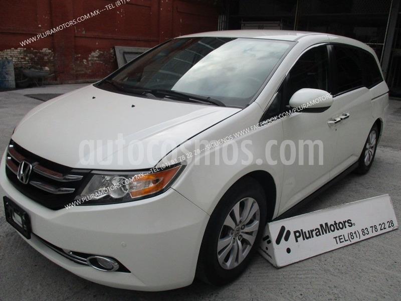 Honda Odyssey EXL usado (2015) color Blanco precio $289,000