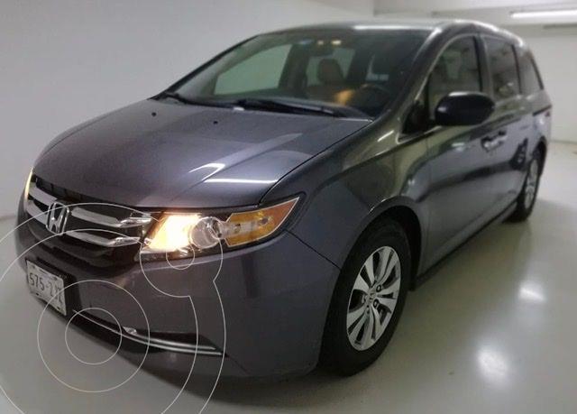 Honda Odyssey LX usado (2014) color Gris Oscuro precio $249,100