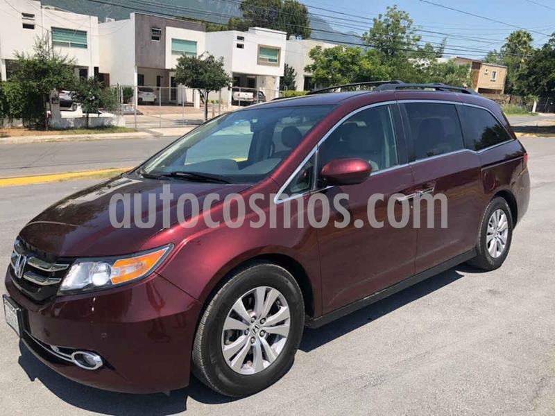 Honda Odyssey EXL usado (2016) color Rojo precio $359,000