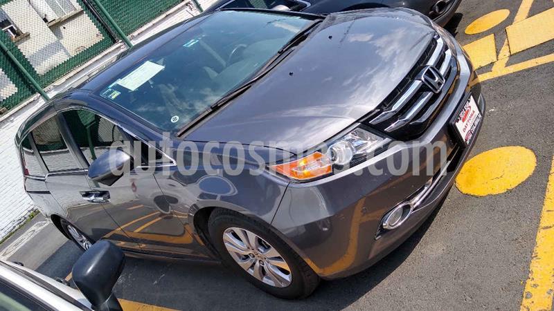Honda Odyssey EXL usado (2016) color Gris precio $389,000