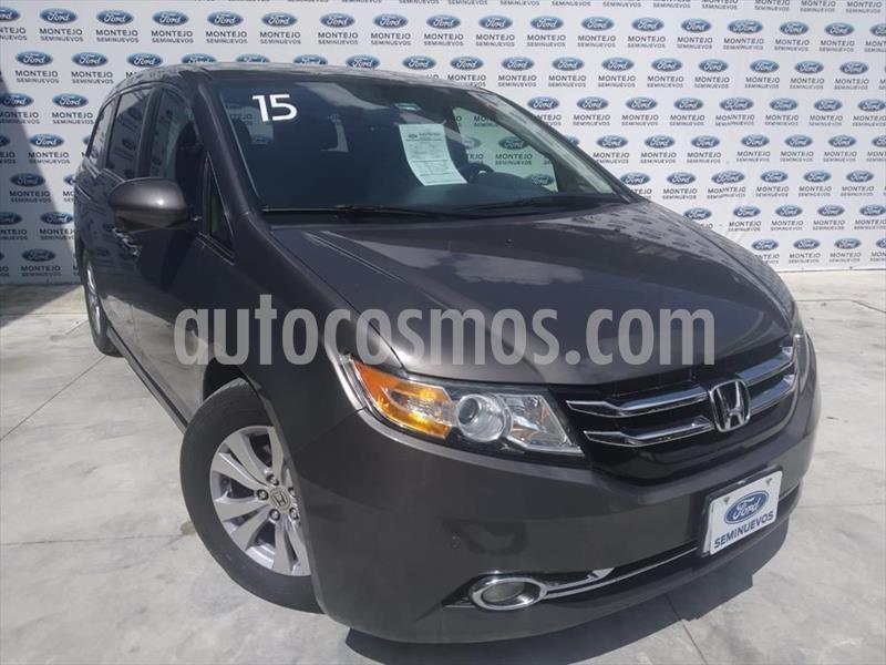 Honda Odyssey EXL V6/3.5 AUT usado (2015) color Gris precio $290,000