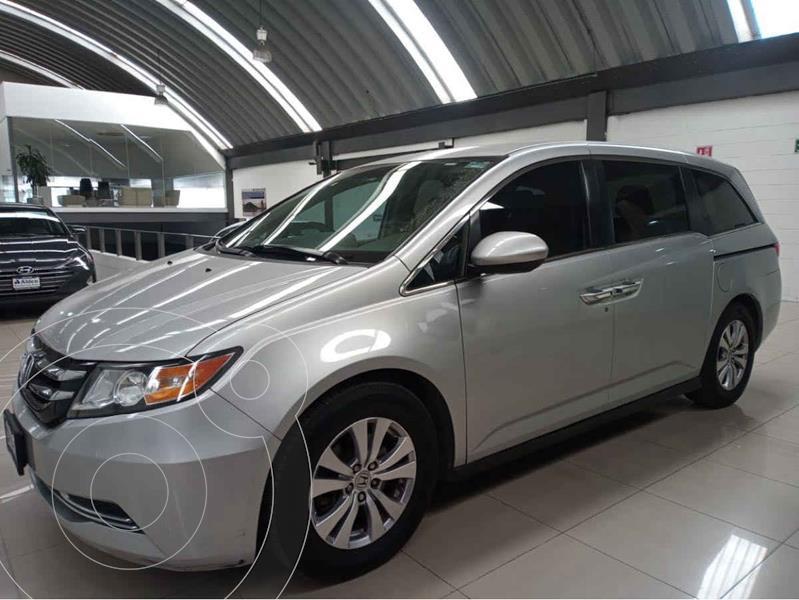 Honda Odyssey EX usado (2014) color Plata precio $255,000