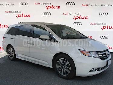 Honda Odyssey 5p Touring V6/3.5 Aut usado (2014) color Blanco precio $310,000