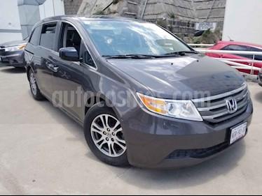 Honda Odyssey 5p EXL minivan aut piel DVD usado (2013) color Gris precio $235,000