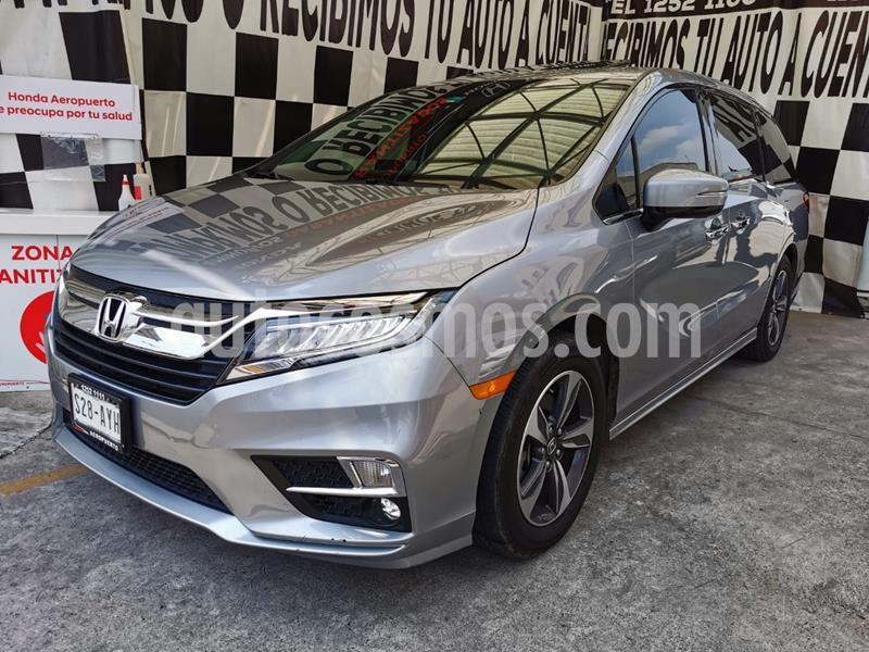 Honda Odyssey Touring usado (2019) color Plata Lunar precio $680,000