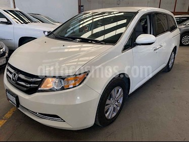 Honda Odyssey 5p EX V6/3.5 Aut usado (2014) color Blanco precio $269,000