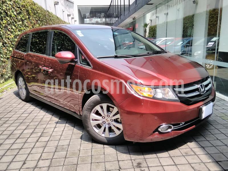 Honda Odyssey EX usado (2016) color Rojo precio $370,000