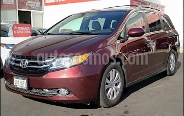 Honda Odyssey EXL usado (2016) color Rojo precio $405,000