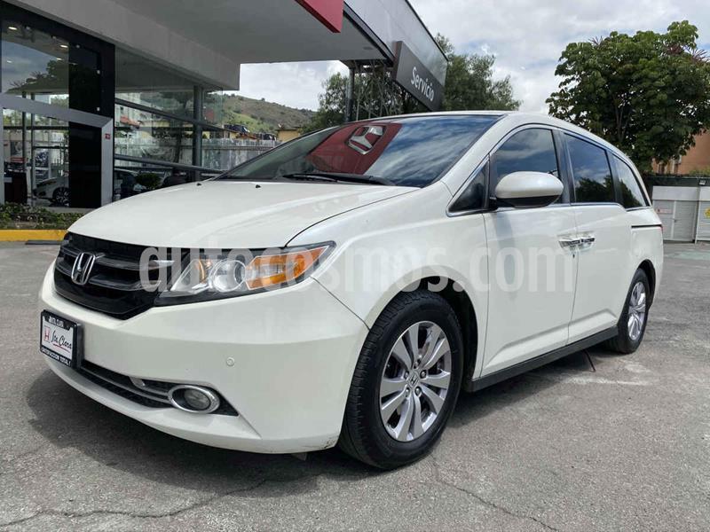 foto Honda Odyssey EXL usado (2016) color Blanco precio $398,000